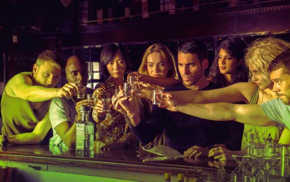 Sense8 es una serie web de ciencia ficción creada, escrita y dirigida por las hermanas Wachowski. FOTO: Cortesía Netflix