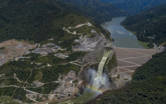 Foto panorámica del proyecto hidroeléctrico Ituango. FOTO JOSÉ LUIS ARANGO