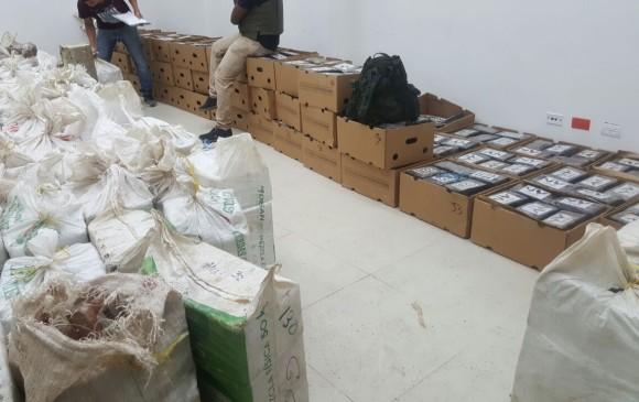 Autoridades incautan 7 toneladas de cocaína al Clan del Golfo en Antioquia