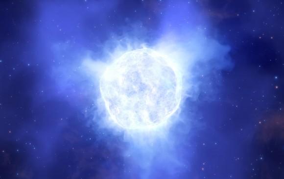 Telescopios detectan la desaparición de una estrella