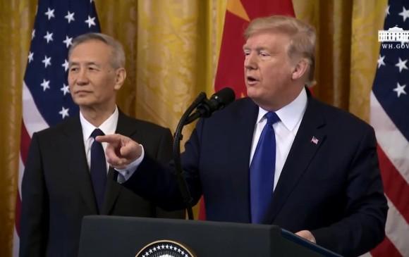 Puntos clave del acuerdo comercial parcial entre EE. UU. y China