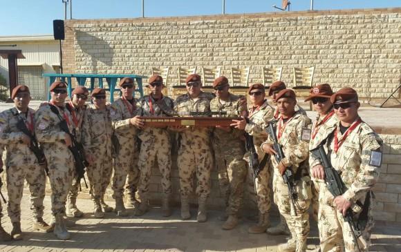 El Batallón Colombia No. 3 es garante de los acuerdos de paz entre Israel y 3901b608cb0
