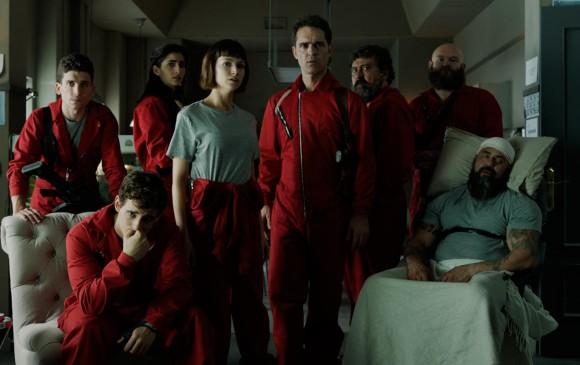 Desde hoy Netflix tiene disponibles los nuevos y últimos episodios de la serie española La Casa de Papel. FOTO Cortesía Netflix