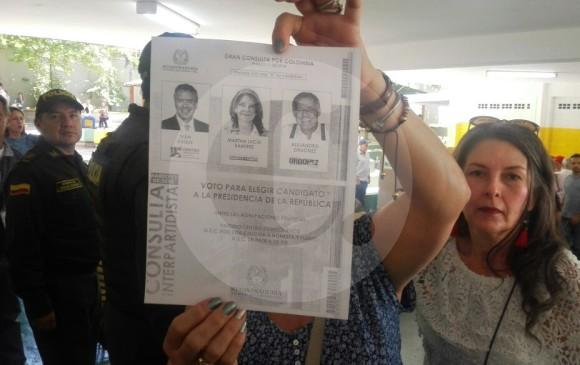 Denuncian falta de tarjetones para consultas presidenciales en varias ciudades del país