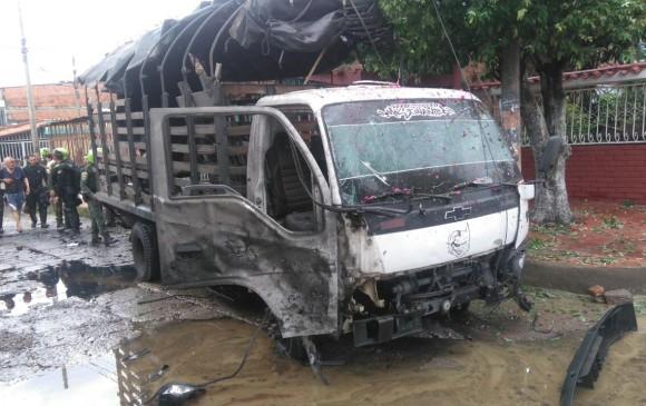 Atentado contra camión de policía en este de Colombia causa 19 heridos
