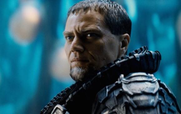 Michael Shannon como General Zod en Man of steel. FOTO: captura pelíucula