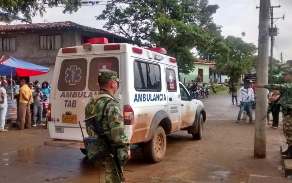 Dos soldados muertos y ocho heridos deja emboscada al Ejército en Tibú