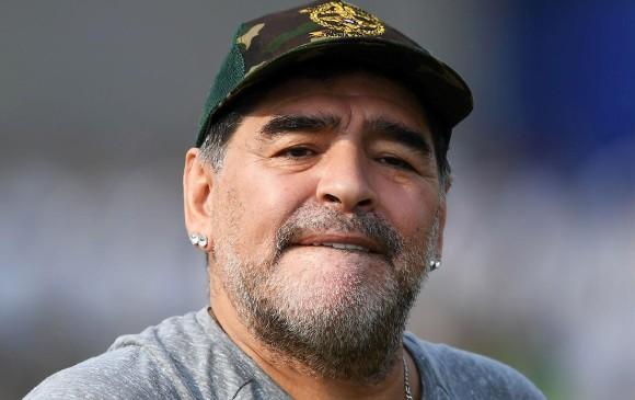 Internaron a Diego Armando Maradona en Colombia