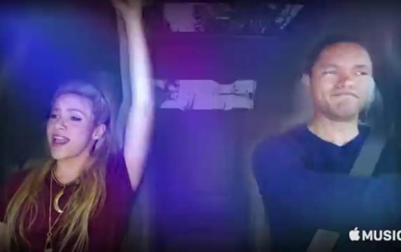 Shakira protagoniza 'Carpool Karaoke' en España y muestra su lado más rockero