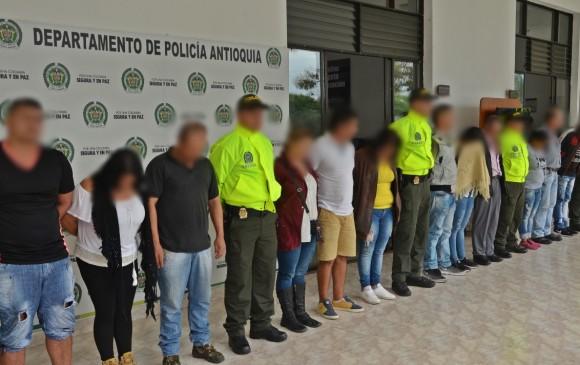Capturan a banda dedicada a la explotación sexual de menores en Antioquia