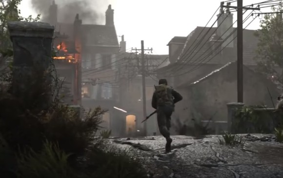 Call of Duty: WWII: the resistance.