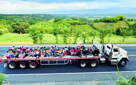 El éxodo venezolano representa la crisis social, política y de Derechos Humanos que se viven en este país: HRW. FOTO AFP