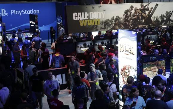 Así lució el recinto de PlayStation durante la feria E3 2017. FOTO EFE