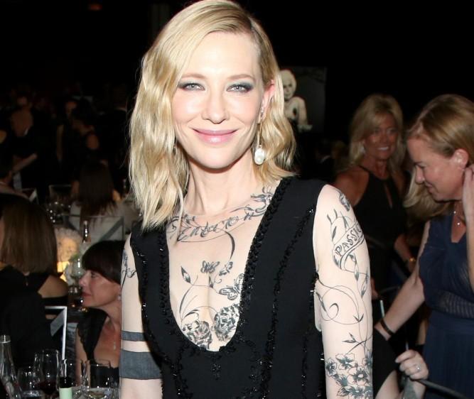 Cate Blanchett también estuvo presente en la gala. Foto cortesía de E! Entertainment Latin America tomada por Randall Michelson