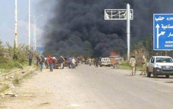 Al menos 112 muertos tras la explosión por coche bomba en Alepo