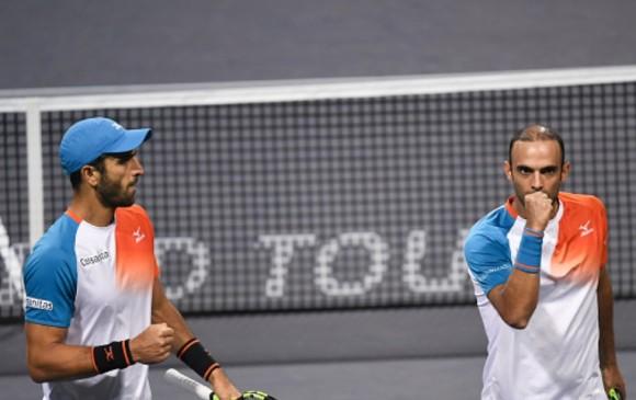Juan Sebastián Cabal y Robert Farah son segundos en la clasificación mundial de dobles de la ATP. FOTO CORTESÍA FEDECOLTENIS