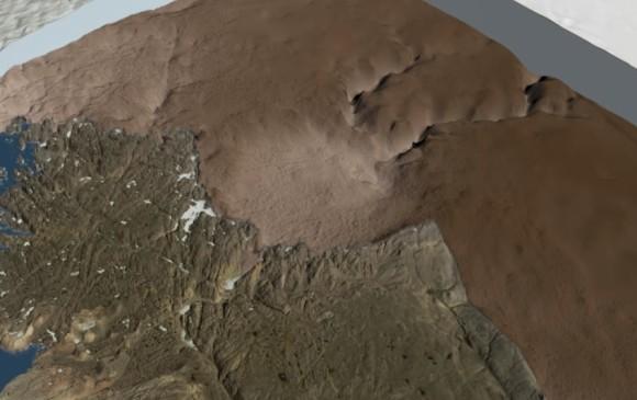 Enorme asteroide chocó con Groenlandia hace solo 12.000 años