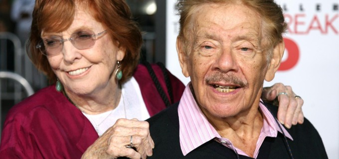 Anne Meara y Jerry Stiller . FOTO AFP