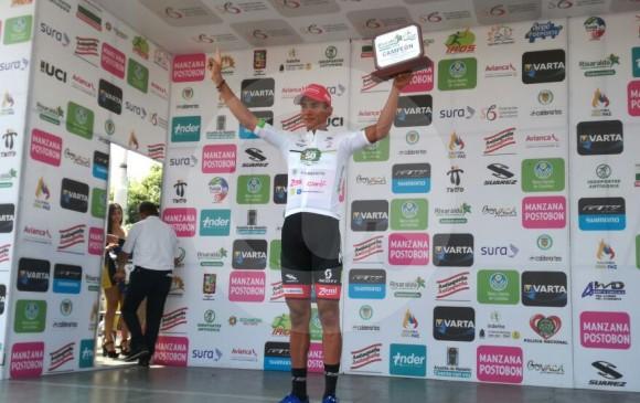 Nelson Soto ganó y Paredes conservó liderato, en la Vuelta a Colombia