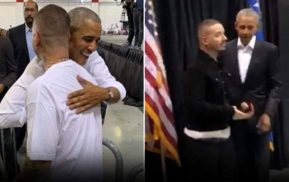 Barack Obama se declara fan de J Balvin y el reggaetón