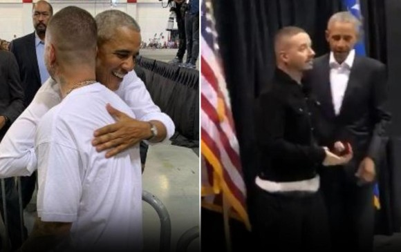 Barack Obama se declaró fan de J Balvin y el reggaeton