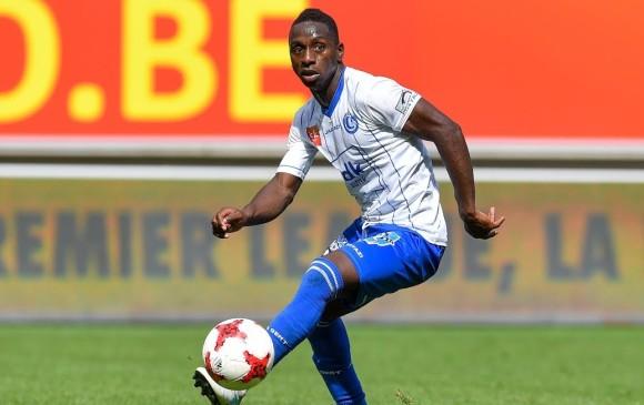 Deivar Machado jugó durante el semestre pasado en el Gent de Bélgica. Regresa a Nacional tras cinco años. FOTO cortesía