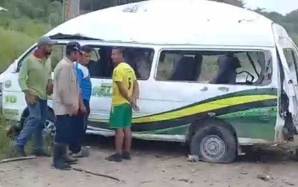 Gabarra: Dos muertos y nueve heridos por atentado en vía Tibú