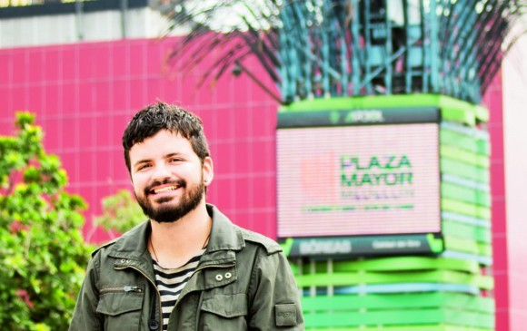 Juan Sebastián Mesa es fotógrafo y comunicador audiovisual de la Universidad de Antioquia con estudios en guion y narrativas contemporáneas. Foto: archivo.