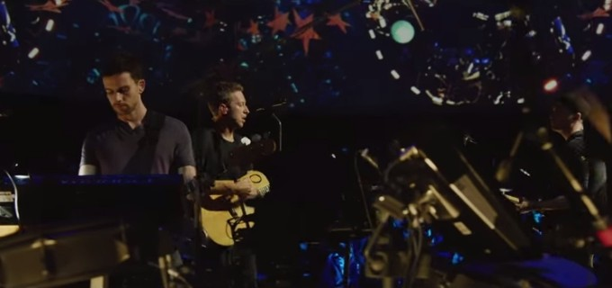 Coldplay lanza su disco En vivo