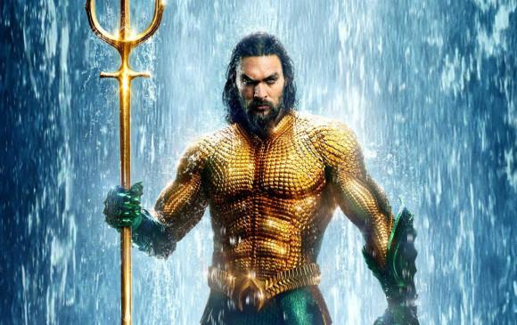 Aquaman ha sido la producción más vista del año en Colombia, ya superó los 3.6 millones de espectadores. FOTO CORTESÍA.