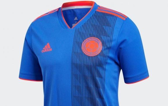 La camiseta alterna de la Selección está inspirada en el poncho campesino.  FOTO CORTESÍA TODO 9fa934fea4d89