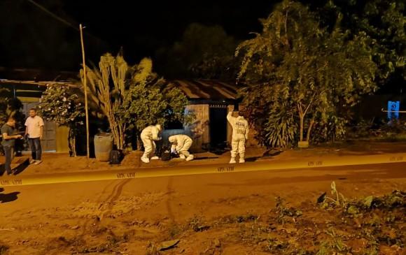 Según las autoridades el cadáver fue hallado a las 2 de la mañana de este jueves