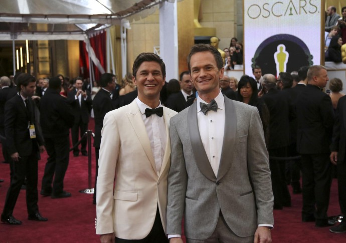 Neil Patrick Harris y David Burtka FOTO REUTERS