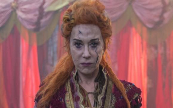 Mother Ginger es el papel de Helen Mirren. Un maquillaje muy particular. FOTO Cortesía Laurie Sparham/Disney Enterprises