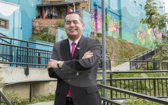 Cardona es magíster en Administración. En la imagen, parte del amoblamiento urbano de la ampliación de la Diagonal 29. FOTO CAMILO SUÁREZ
