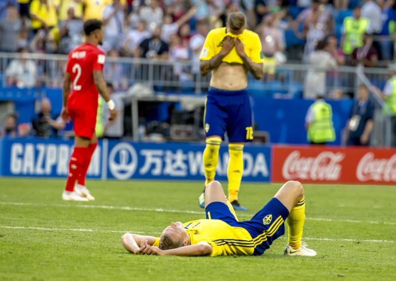 Suecia llegaba a los cuartos con la estadística de su lado: en ocho encuentros oficiales entre ambos, los nórdicos solo habían perdido uno. FOTO JUAN ANTONIO SANCHEZ