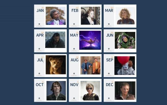 Mes a mes, aquí puede ver las películas que se estrenarán este año. FOTOS Cortesía