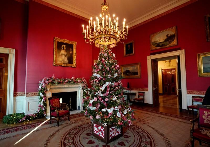 """La decoración fue presentada bajo el nombre de """"Tradiciones honradas con el tiempo"""". FOTO Reuters"""