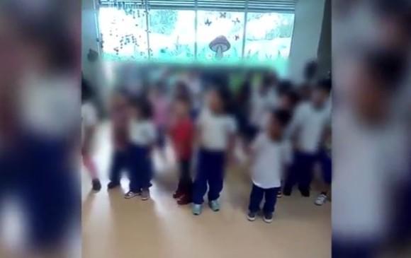 Pol mica por ni os de jard n infantil en medell n que for Cascanueces jardin infantil medellin