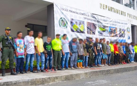 Capturan en Colombia 28 miembros del Clan del Golfo