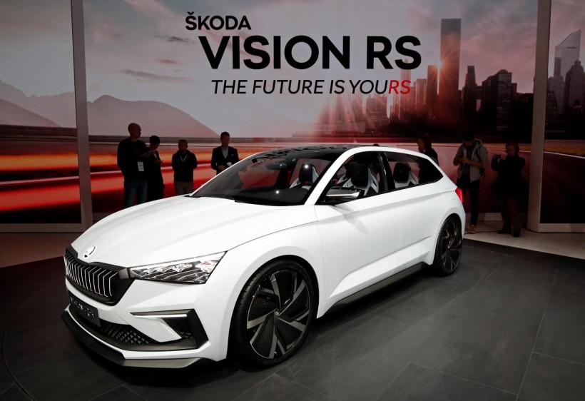 Vision RS de Skoda, un híbrido enchufable compacto de 245 CV y una autonomía en modo eléctrico de 70 kilómetros.