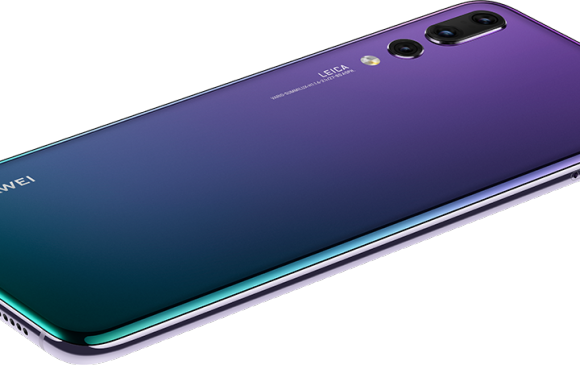 El Huawei P20 pro llega a competirle al iPhone X y al Samsung Galaxy S9 +. FOTO: Cortesía