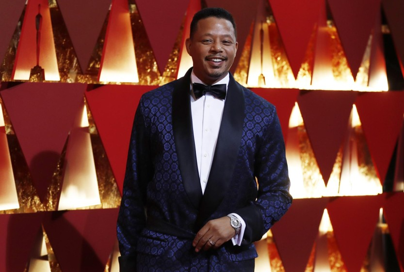 Terrence Howard muy criticado por su traje. FOTO Reuters