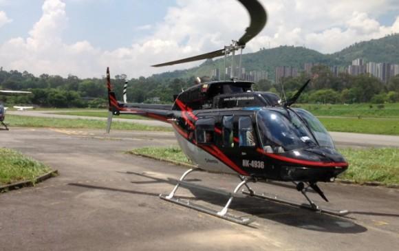Un muerto deja accidente de helicóptero en el municipio de Argelia, Cauca
