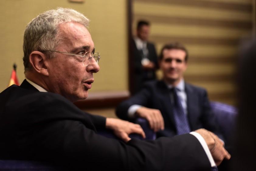 El expresidente Álvaro Uribe Vélez EFE