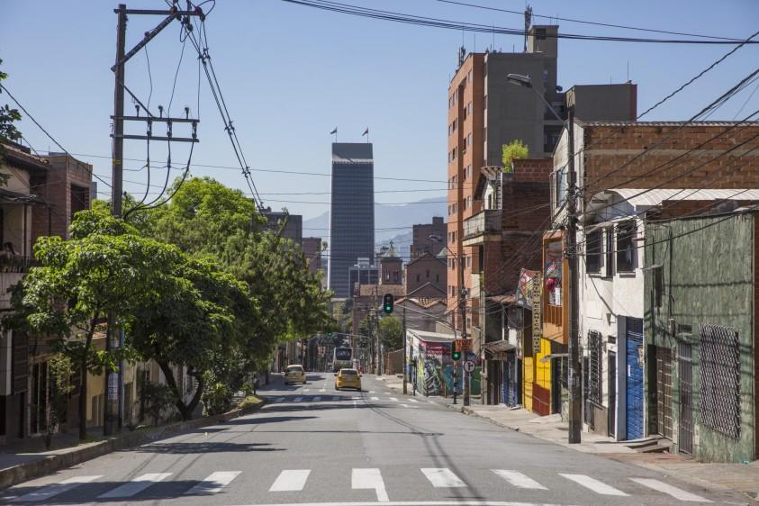 Avenida Ecuador. Foto: Edwin Bustamante. Foto: Edwin Bustamante.