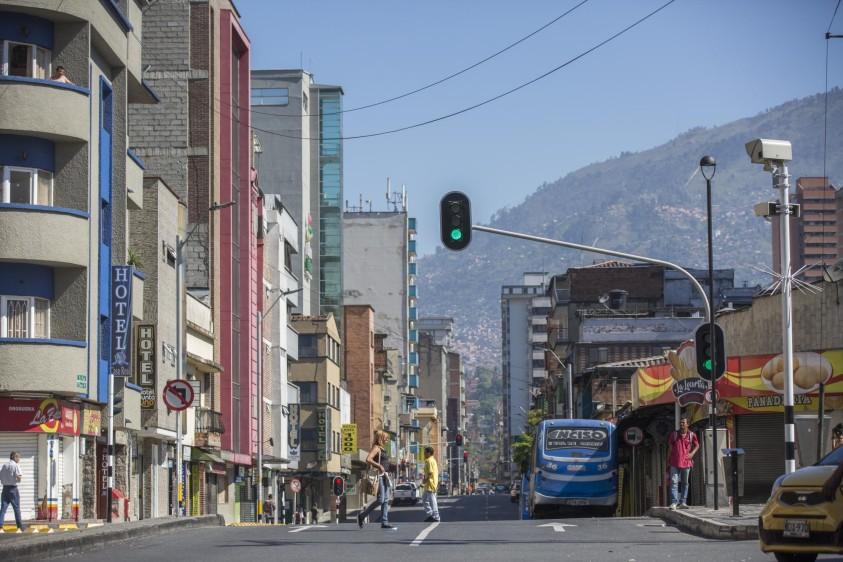 Carrera El Palo. Foto: Edwin Bustamante.