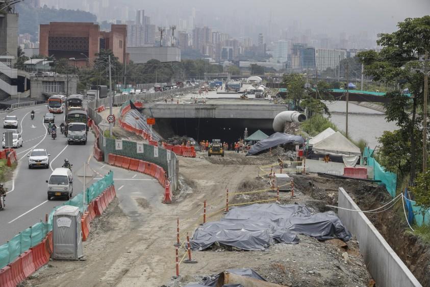 Las etapas 1A (ya entregada) y la 1B (en construcción) solo son una de las cinco fases previstas en Medellín. FOTO MANUEL SALDARRIAGA