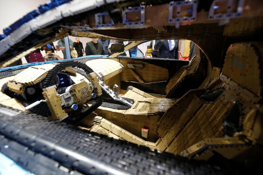 Bugatti Chiron de Lego. FOTO REUTERS