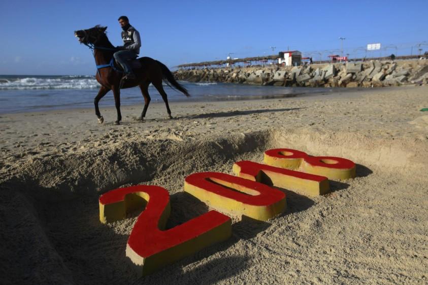 Franja de Gaza. FOTO AFP